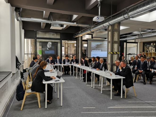 Innovation Center U-shape arrangement - KSP meeting 2018